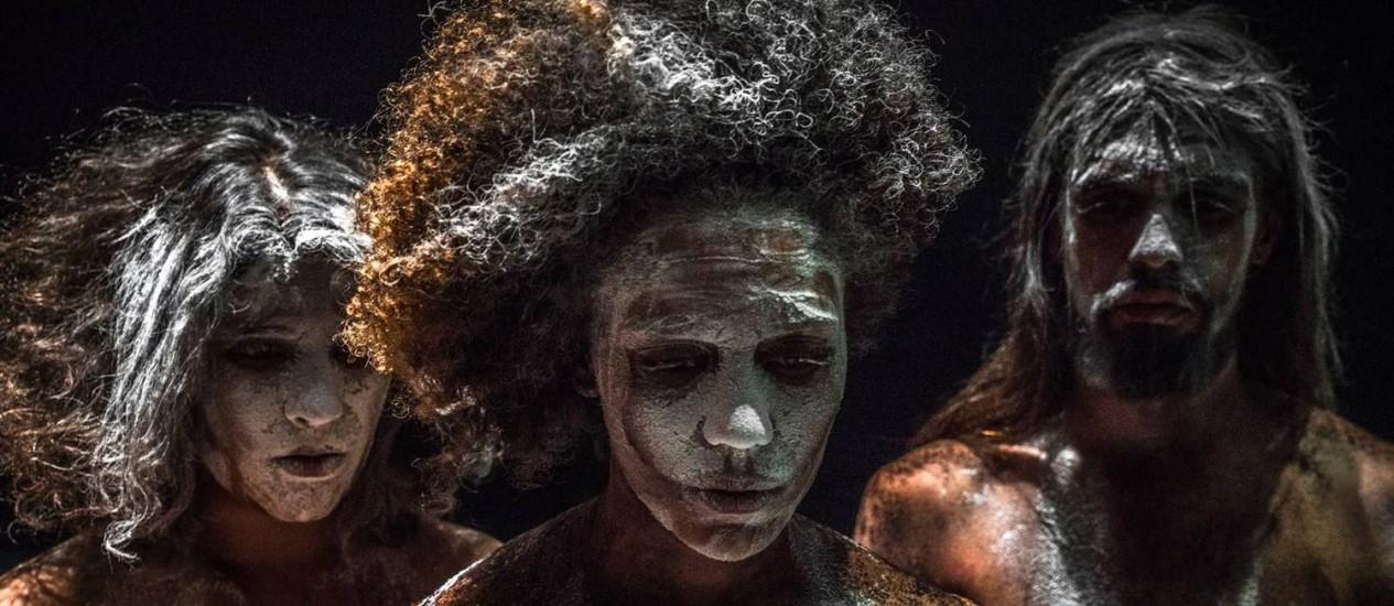 Em cena. No Projeto Brasil coreógrafa Lia Rodrigues apresenta a sua nova criação, 'Para que o céu não caia' Foto: Divulgação / Sammi Landweer