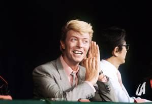 'Garoto safado'. Livro diz que Bowie usou sex appeal para avançar na carreira Foto: Divulgação/ RALPH GATTI