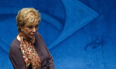 A senadora Marta Suplicy, ex-prefeita de São Paulo, quer novo mandato Foto: André Coelho / Agência O Globo / 23-4-2015