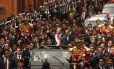 Posse. Humala após assumir a Presidência: suspeitas sobre financiamento de campanha