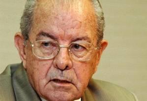 O ex-governador do Pará Jarbas Passarinho Foto: Reprodução / Reprodução