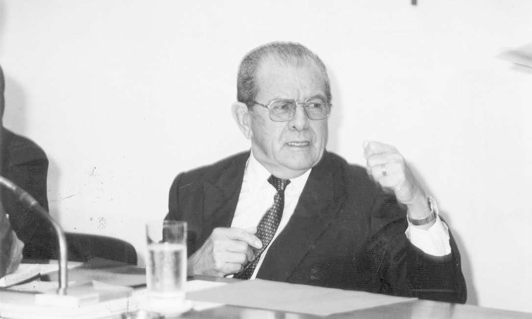 Passarinho participou da articulação do movimento político-militar que, em março de 1964, depôs Goulart Foto: Edivaldo Ferreira
