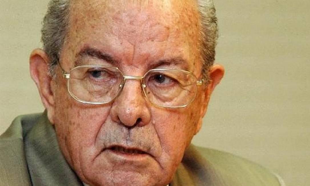 Passarinho morreu aos 96 anos em sua casa, em Brasília Foto: Reprodução