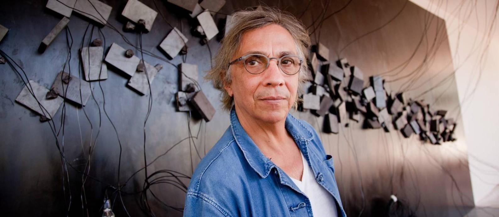 O artista plástico Tunga em Inhotim Foto: Daniela Paoliello / Agência O Globo