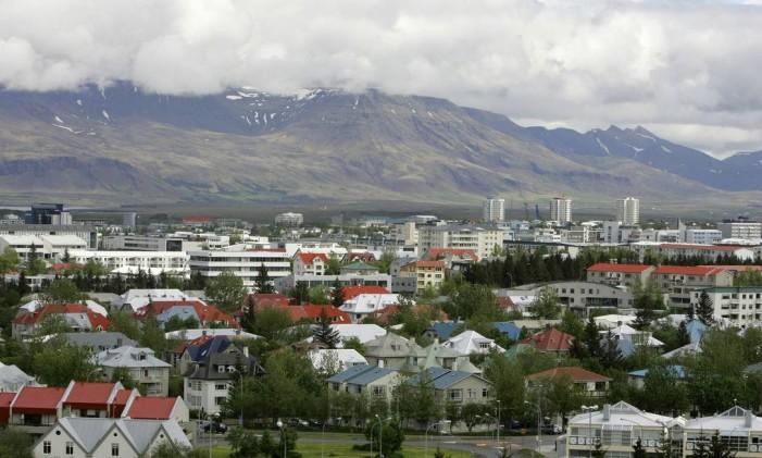 Reykjavík, na Islândia Foto: Kirsty Wigglesworth / AP