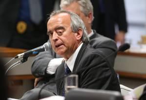 O ex-diretor da Petrobras Nestor Cerveró Foto: Andre Coelho / Agência O Globo / 2-12-2014