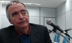 O ex-diretor da Petrobras Nestor Cerveró em depoimento Foto: Reprodução
