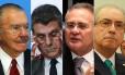 PGR pede a prisão de Sarney, Jucá, Renan e Cunha