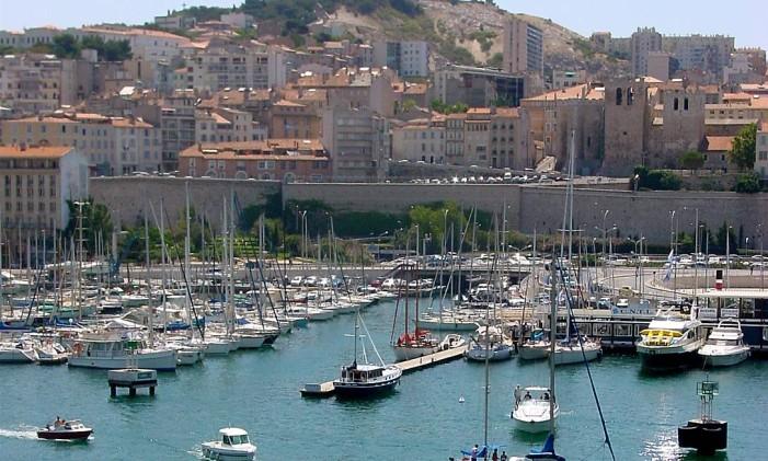 Porto antigo em Marselha, na França Foto: Divulgação