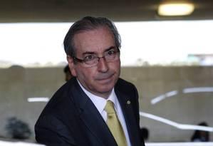 Eduardo Cunha (PMDB-RJ) Foto: Agência O Globo
