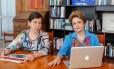 Dilma e Tereza Campello
