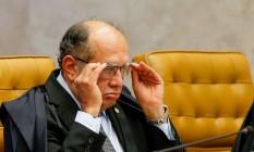 O ministro do STF, Gilmar Mendes Foto: Pedro Ladeira / Agência O Globo