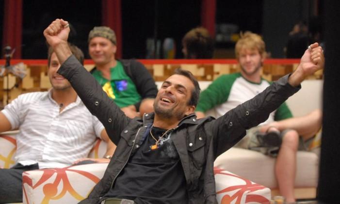 """Marcelo Dourado venceu o """"Big Brother Brasil 10"""" Foto: Frederico Rozário / TV Globo"""
