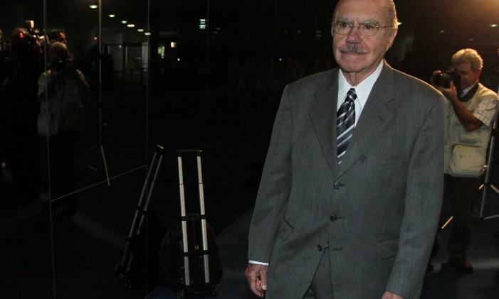 Senador José Sarney Foto: Arquivo O Globo - 03/07/2012 / Ailton de Freitas
