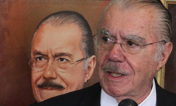O ex-presidente da República José Sarney (PMDB-AP) Foto: Ailton de Freitas / Agência O Globo / 27-6-2012
