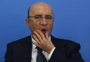 Henrique Meirelles, ministro da Fazenda Foto: ANDRE COELHO / Agência O Globo