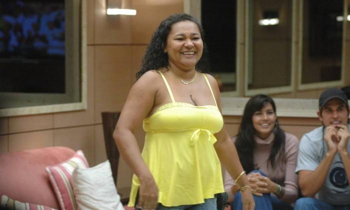"""Mara, a vencedora do """"BBB 6"""" Foto: Kiko Cabral / TV Globo"""