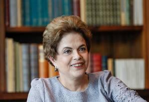 A presidente afastada Dilma Rousseff Foto: Roberto Stuckert Filho / Reprodução / Facebook
