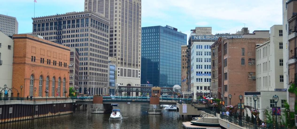 Passeios à margem do rio Foto: Visit Milwaukee/Divulgação