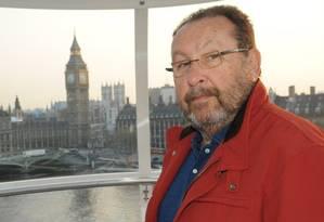 Zwi Skornicki, apontado como um dos operadores da Lava-Jato. Na foto, ele em Londres. Foto: Reprodução do Facebook
