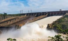 Usina hidrelétrica de Itaipu Foto: Alexandre Marchetti / Divulgação