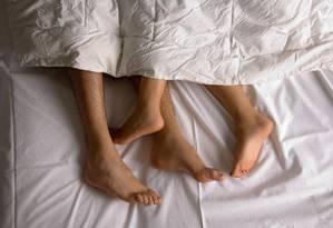 A vida sexual aparece em quarto lugar como fator importante para as mulheres, e terceiro para os homens Foto: Divulgação