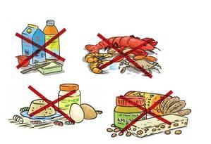 Leite, ovos, crustáceos e amendoins podem causar alergia Foto: Arte/ OGLOBO