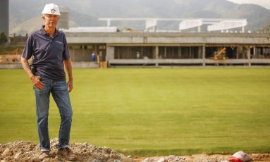 À frente. vice-presidente de Projetos Especiais, Pedro Antônio Ribeiro Foto: Guilherme Leporace / Agência O Globo
