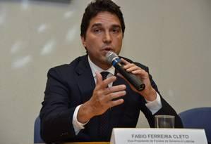 Fábio Cleto, ex-vice da Caixa: pelo menos dez casos de fraude Foto: Valter Campanato/ABr Brasília/Arquivo