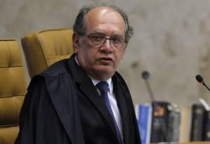 O ministro Gilmar Mendes Foto: Givaldo Barbosa / Agência O Globo
