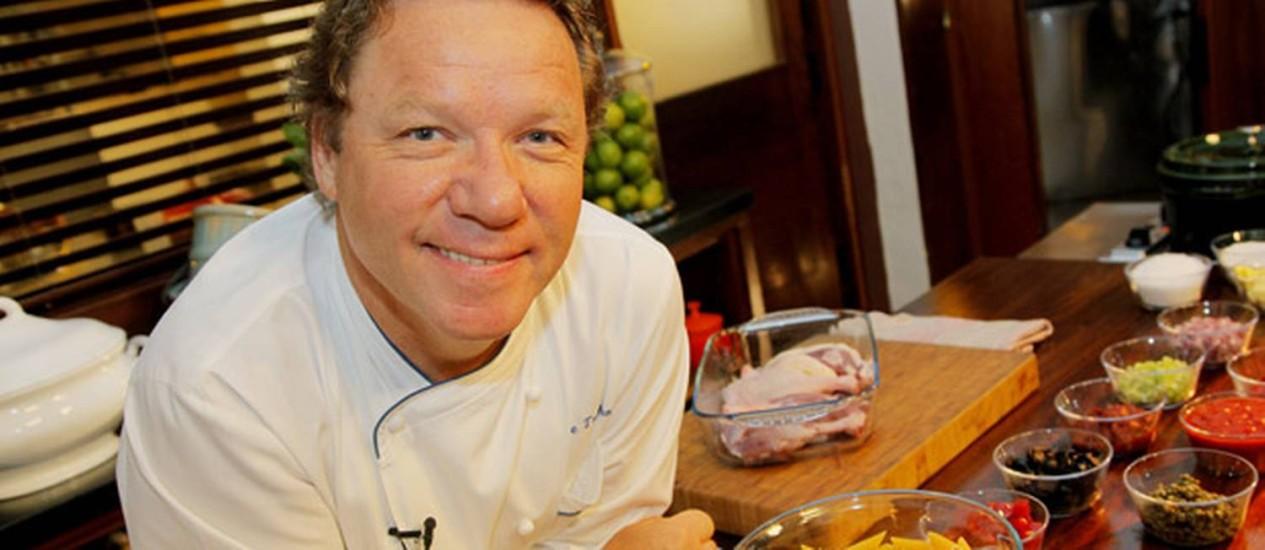 O chef Claude Troisgros Foto: Divulgação / Alexandre Campbell
