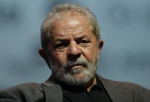 O ex-presidente Luiz Inácio Lula da Silva Foto: Alexandre Cassiano / Agência O Globo / 6-6-2016