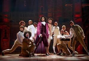 'Hamilton': o musical recebeu 16 indicações ao Tony Foto: Divulgação