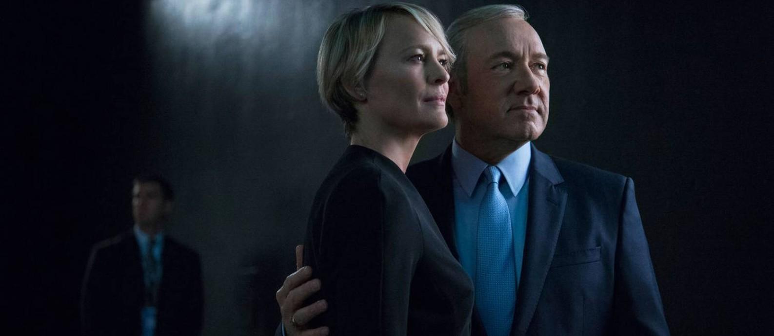 'House of cards': série política é 'saboreada' por assinantes da Netflix Foto: Divulgação
