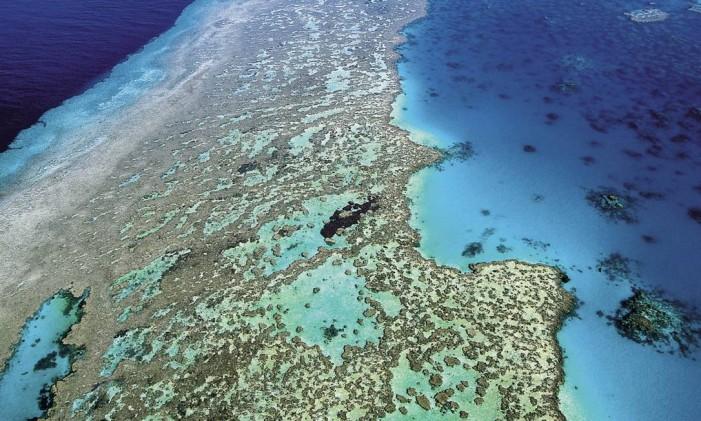 Grande Barreira de Corais, na Austrália Foto: Queensland Tourism / AP