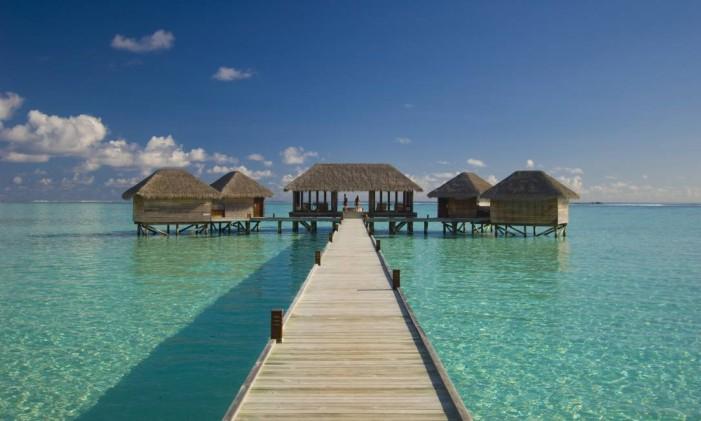 Resort Ithaa, nas Maldivas Foto: Divulgação / Arquivo