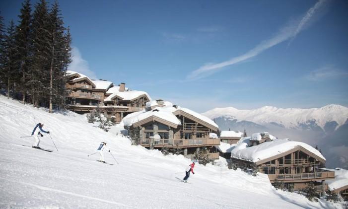 Estação de esqui de Courchevel, nos Alpes franceses Foto: Christian Arnal / Divulgação / Arquivo