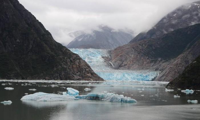 Paisagens do Alasca, nos Estados Unidos Foto: Eduardo Maia / O Globo