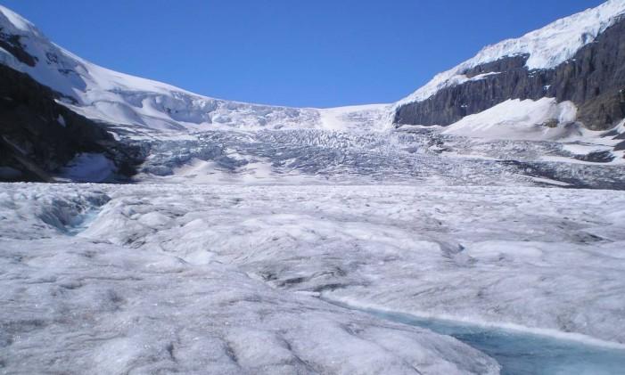 Geleira Athabasca, Canadá Foto: Creative Commons / Reprodução