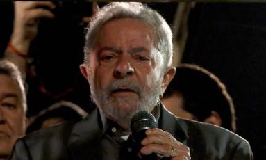 O ex-presidente Luiz Inácio Lula da Silva Foto: Miguel Schincariol / AFP / 10-6-2016