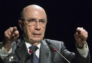 Apoio: Ministro ressaltou que teto de gastos contribui para controlar inflação Foto: ANTONIO SCORZA / Agência O Globo
