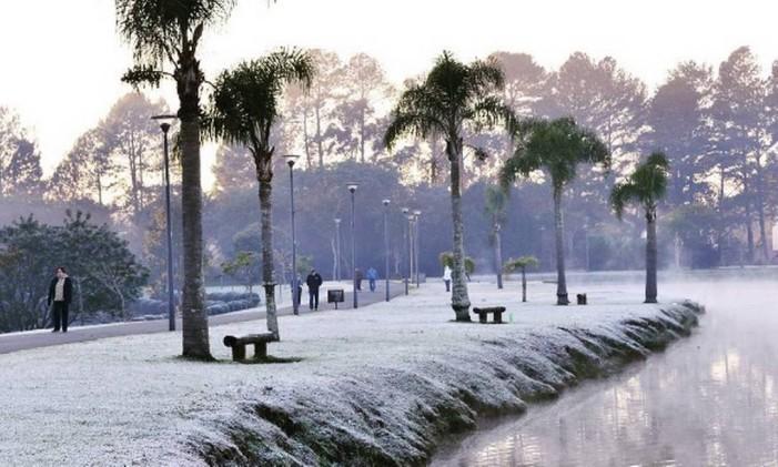 Parque em Curitiba Foto: @st_jacksonmendes / Instagram / Reprodução