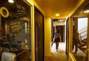 Na Casa XXVinte, espaços se dividem entre privativos e áreas de convivência Foto: Guilherme Leporace