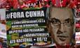 Passeata da CUT contra o impeachment de Dilma Rousseff