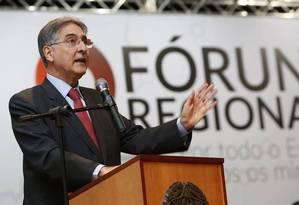 O governador de Minas, Fernando Pimentel Foto: Reprodução / Facebook
