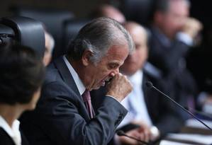 O relator das contas de 2015 da presidente afastada Dilma Rousseff listou 23 irrregularidades durante julgamento no TCU Foto: Jorge William / O Globo