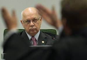 O ministro Teori Zavascki Foto: Andrvà Coelho / Agência O Globo