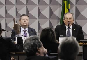 Comissão Especial de Impeachment no Senado Foto: Edilson Rodrigues/Agência Senado