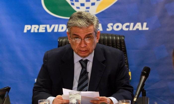 O ex-ministro da Previdência Social, Garibaldi Alves Filho Foto: Givaldo Barbosa / Agência O Globo