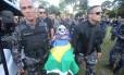 Enterro do PM Márcio Ávila, morto na terça-feira, durante tentativa de assalto